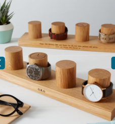 https://www.notonthehighstreet.com/mijmoj/product/solid-oak-watch-stand-for-four-watches