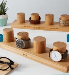 https://www.notonthehighstreet.com/mijmoj/product/solid-oak-watch-stand-for-four-watches