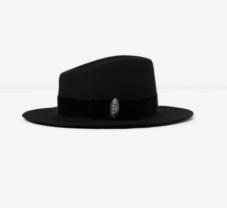 https://www.thekooples.com/fr/chapeau-feutre-noir-galon-bijou-1436680.html